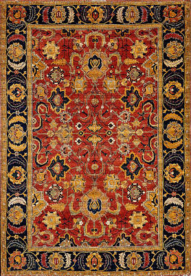 Wall Art - Photograph - Persian Carpet #4 by Ron Morecraft