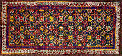 Wall Art - Photograph - Persian Carpet #5 by Ron Morecraft