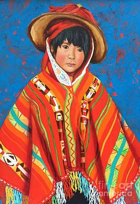 Peruvian Child Original