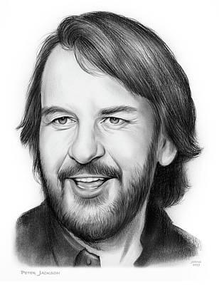 Drawings - Peter Jackson by Greg Joens