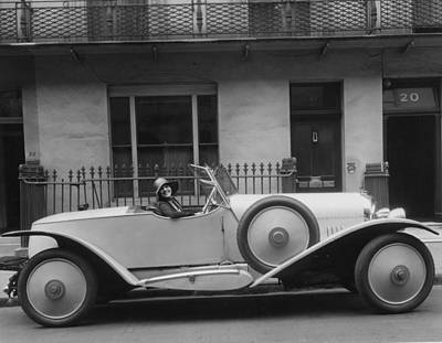 Photograph - Peters In Car by Sasha