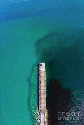 Royalty-Free and Rights-Managed Images - Petoskey Aerial Vertical Panorama by Twenty Two North Photography
