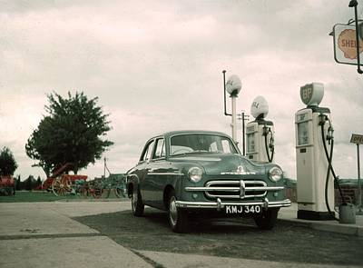 Photograph - Petrol  Station by Hulton Collection