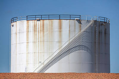 Photograph - Petroleum Tank by Todd Klassy