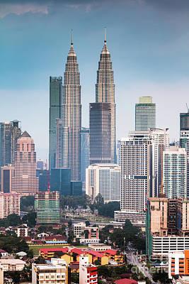 Photograph - Petronas Twin Towers, Klcc, Kuala Lumpur, Malaysia by Matteo Colombo
