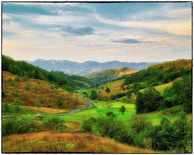 Photograph - Petrova Hills Road by Sorin Markus