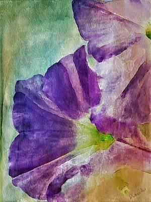Digital Art - Petunia by Diane Chandler