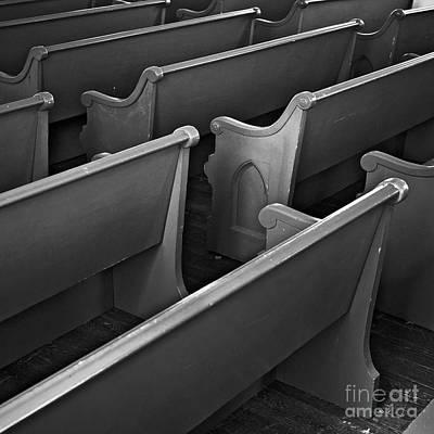 Photograph - Pews by Patrick M Lynch