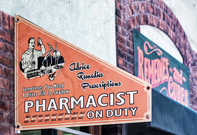 Design Pics - Pharmacist On Duty by Debra Martz