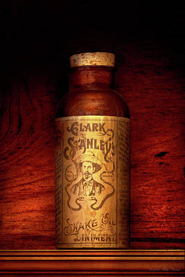 Photograph - Pharmacy - The Original Snake Oil by Mike Savad