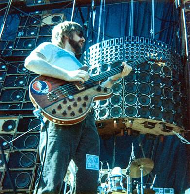 Photograph - Phil Lesh Grateful Dead Live by Ed Perlstein