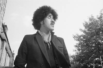 Photograph - Phil Lynott by Fin Costello