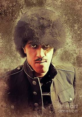 Jazz Royalty Free Images - Phil Lynott, Music Legend Royalty-Free Image by John Springfield