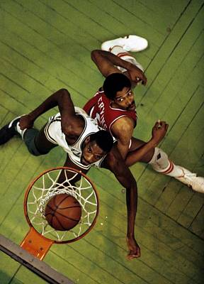 Photograph - Philadelphia 76ers V Boston Celtics by Ronald C. Modra/sports Imagery