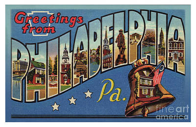 Photograph - Philadelphia Greetings by Mark Miller
