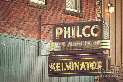Photograph - Philco - Kelvinator  by Imagery by Charly
