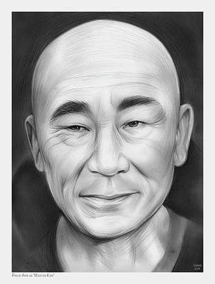 Modern Sophistication Line Drawings - Philip Ahn as Kan by Greg Joens