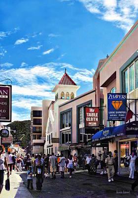 Photograph - Philipsburg Sint Maarten - Shopping On Front Street by Susan Savad