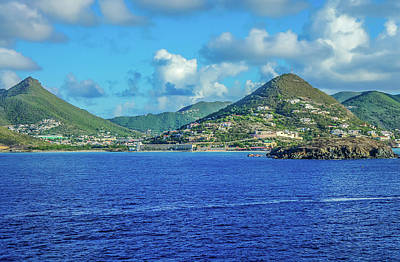 Photograph - Phillipsburg, St. Maarten, Caribbean by Dawn Richards