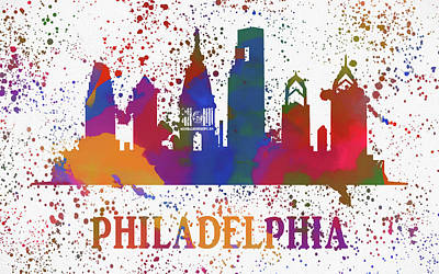 Painting - Philly Color Splash by Dan Sproul