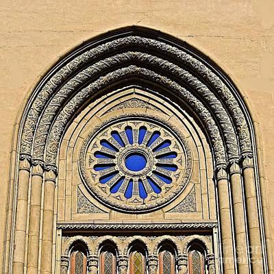 Digital Art - Phoenix First Baptist Church by Doug Morgan