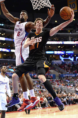 Photograph - Phoenix Suns V Los Angeles Clippers by Noah Graham