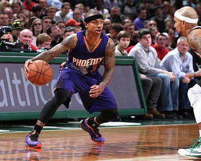 Photograph - Phoenix Suns Vs Milwaukee Bucks by Gary Dineen