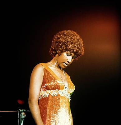 Photograph - Photo Of Aretha Franklin by David Redfern
