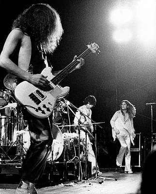 Photograph - Photo Of Black Sabbath And Geezer Butler by Colin Fuller