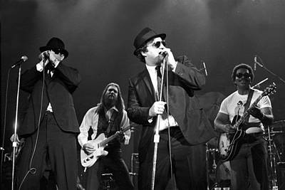 Music Photograph - Photo Of Blues Brothers by Larry Hulst