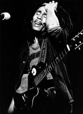 Photograph - Photo Of Bob Marley by Erica Echenberg