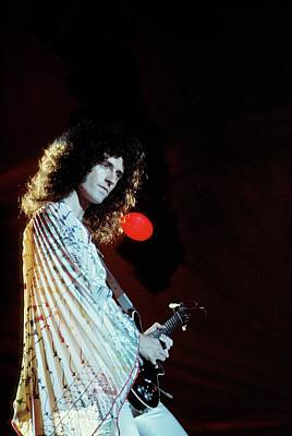 Photograph - Photo Of Brian May And Queen by Andrew Putler