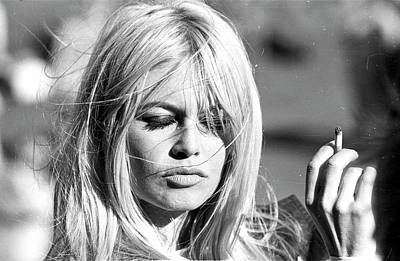 Photograph - Photo Of Brigitte Bardot by Michael Ochs Archives