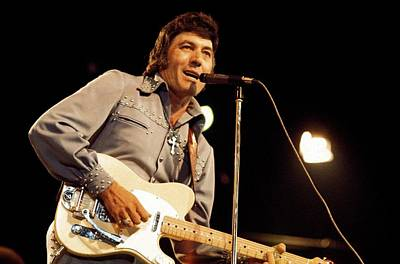 Photograph - Photo Of Carl Perkins by Andrew Putler