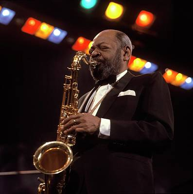 Photograph - Photo Of Coleman Hawkins by David Redfern