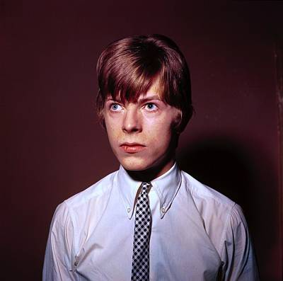 Photograph - Photo Of David Bowie by Ca