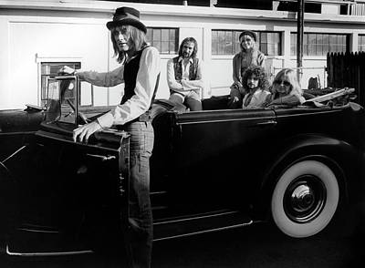 Photograph - Photo Of Fleetwood Mac by Fin Costello