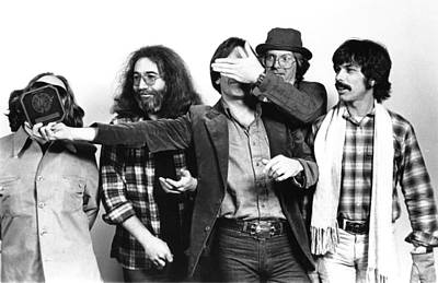 Music Photograph - Photo Of Grateful Dead by Richard Mccaffrey