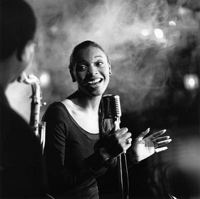 Photograph - Photo Of Jazz Singer And Jazz And Singer by David Redfern