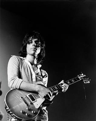 Photograph - Photo Of Jeff Beck by David Redfern