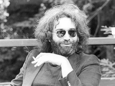 Photograph - Photo Of Jerry Garcia by Michael Ochs Archives
