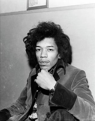 Photograph - Photo Of Jimi Hendrix by Ca