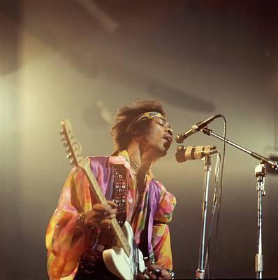 Photograph - Photo Of Jimi Hendrix by David Redfern