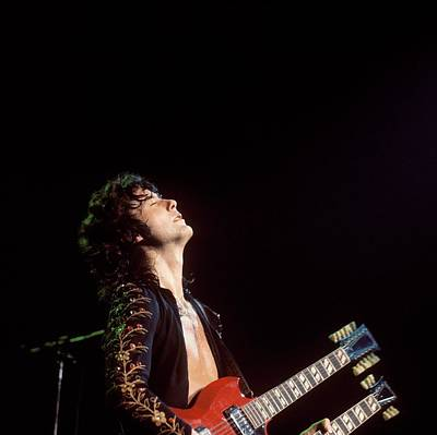 Photograph - Photo Of Jimmy Page And Led Zeppelin by David Redfern