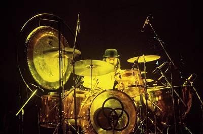 Photograph - Photo Of John Bonham And Led Zeppelin by Steve Morley