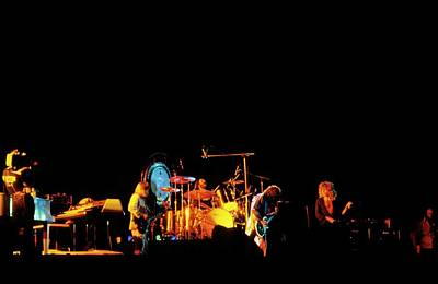 Photograph - Photo Of Led Zeppelin by Mike Prior