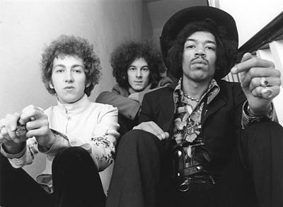 Photograph - Photo Of Noel Redding And Jimi Hendrix by Ivan Keeman