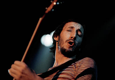 Performance Photograph - Photo Of Pete Townshend And Who by David Redfern