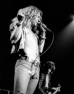 Robert Plant Wall Art - Photograph - Photo Of Robert Plant And Led Zeppelin by David Redfern