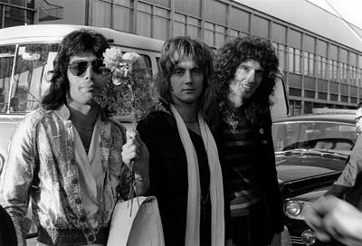 Photograph - Photo Of Roger Taylor And Queen And by Erica Echenberg